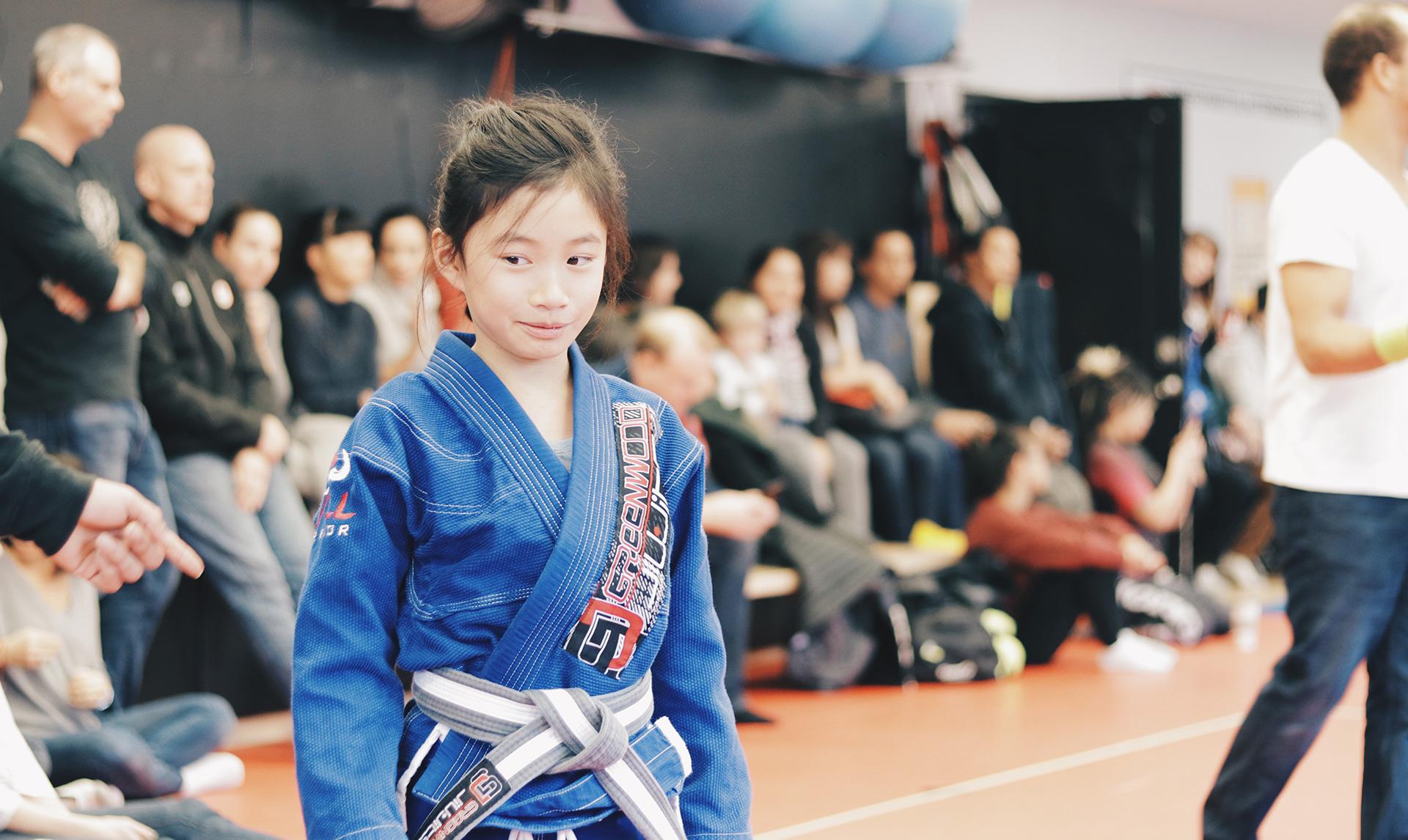Brazilian Jiu Jitsu Girl